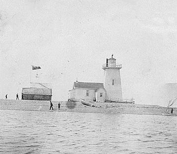 Jerseyman Island Lighthouse