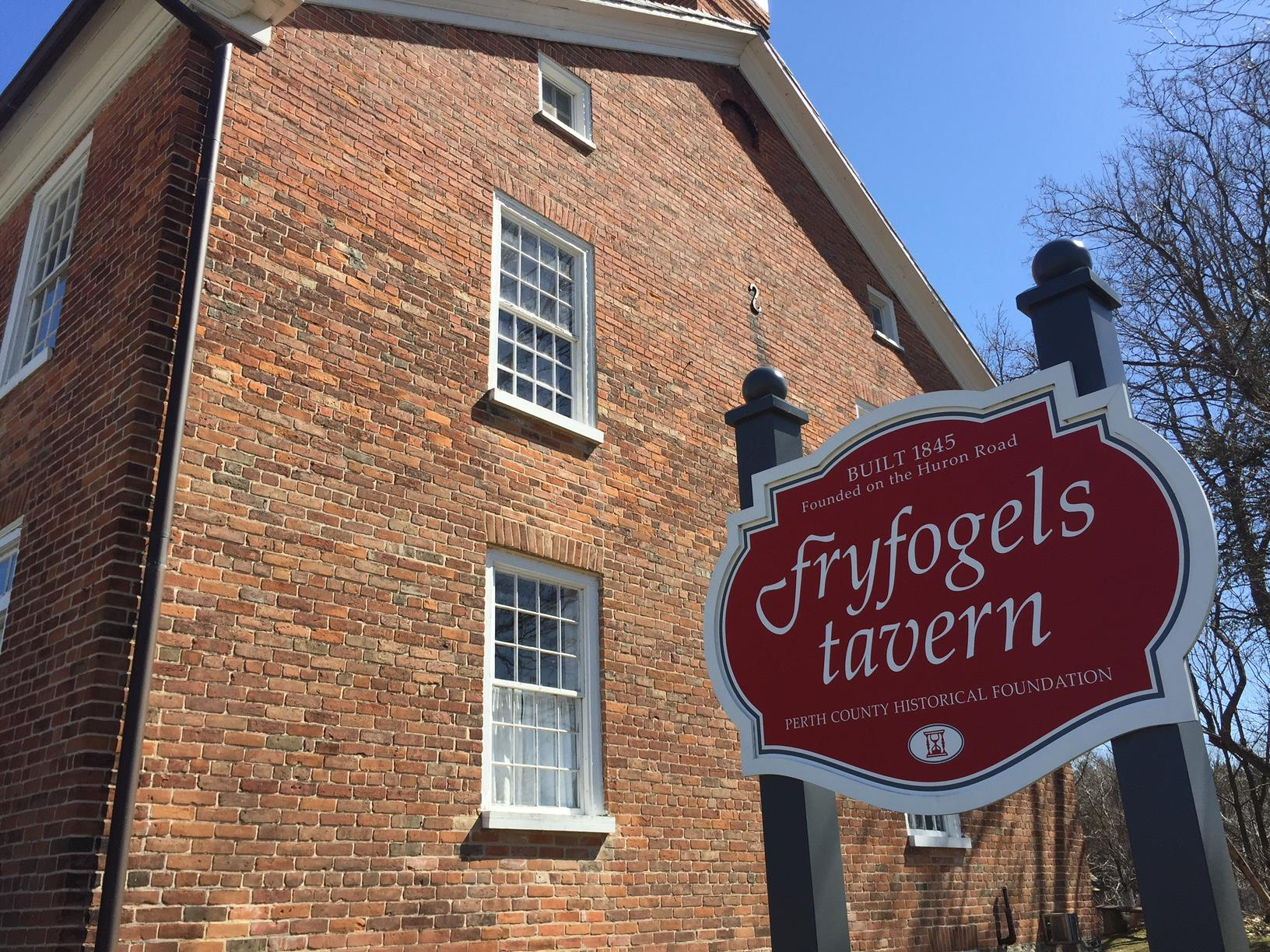 The Fryfogel Tavern Matters