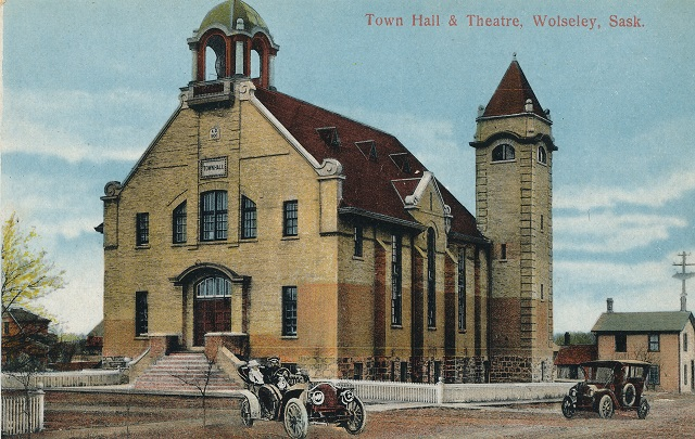 Lets 'Cedar Shake' this place up.  The Wolseley Opera Hall.