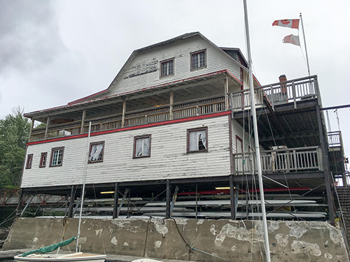 Reconnecting with the Ottawa River: An Historic Boathouse Revitalization